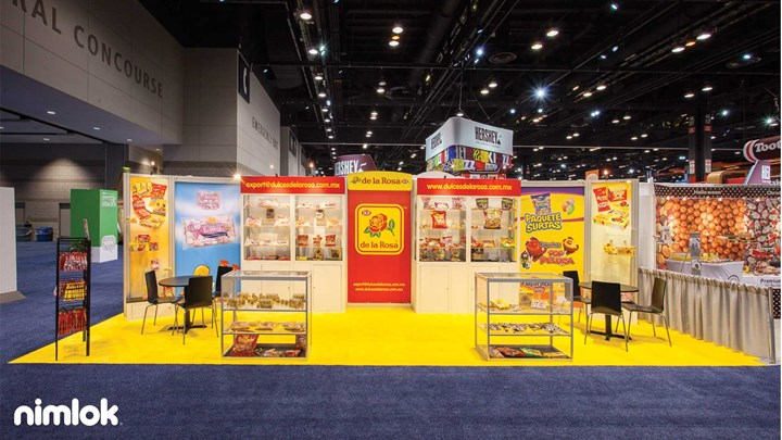 De La Rosa - 10x30 - custom modular exhibit