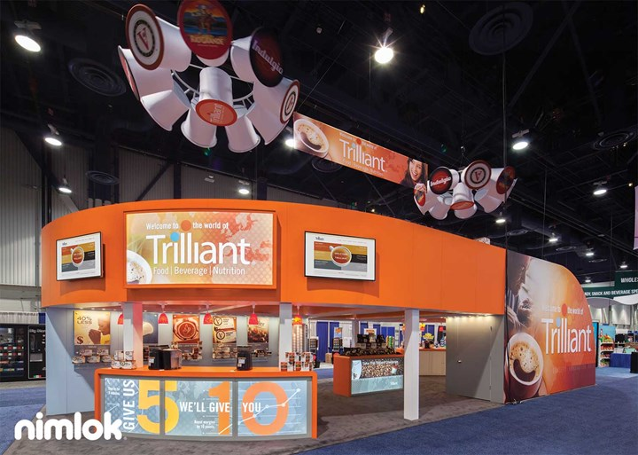 Trilliant - 20x50 - custom modular exhibit
