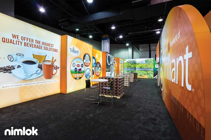 Trilliant  40x100 - 40x100 - custom modular exhibit