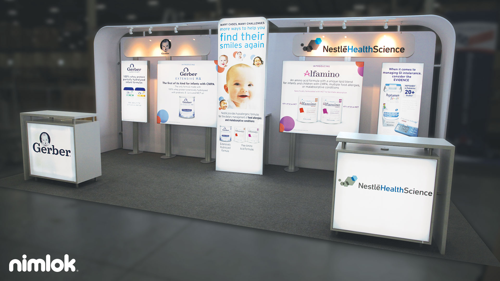 Nestle Exhibition Booth : Nestle exhibition booth nestlé professional stand at
