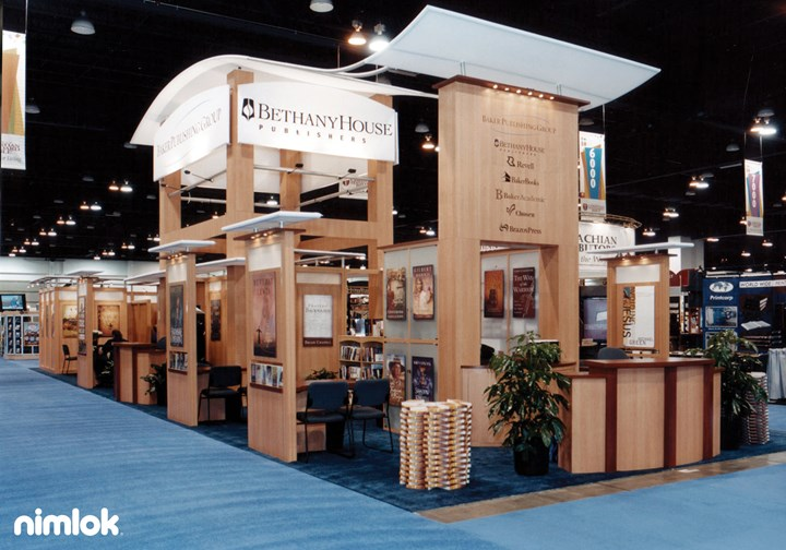 Baker Publishing - Larger - custom modular exhibit