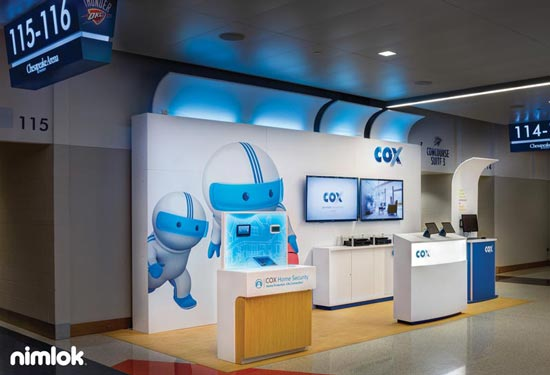 Cox Communications - 9x22 - custom exhibit