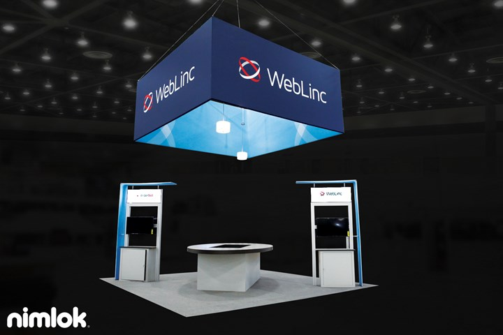 WebLinc - 20x20 - custom exhibit