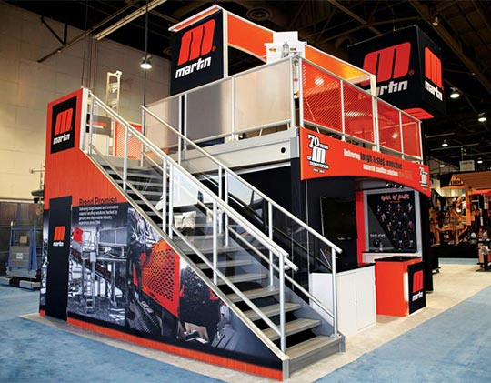 Custom Trade Show Rental Exhibits