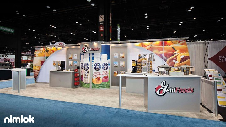Gehl Foods - 10x30 - trade show exhibit