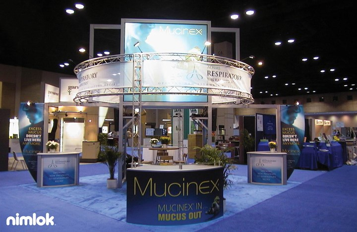 Adams - Mucinex  - 20x20 - trade show exhibit