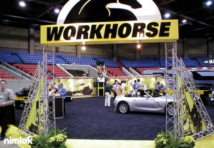 Workhorse - 50x60 - trade show exhibit
