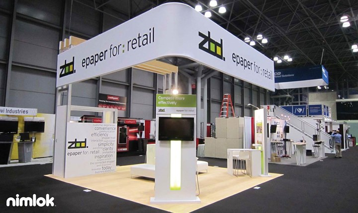 ZBD Solutions - 20x20 - trade show exhibit