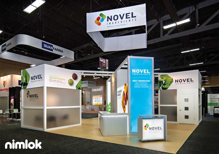 Nimlok New York City Custom Trade Show Exhibit Example