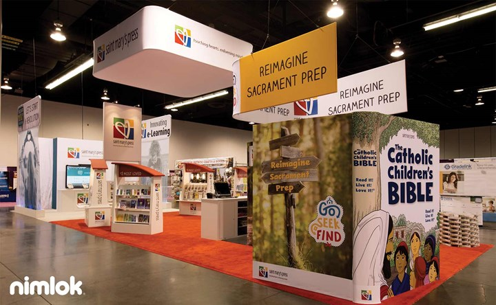 Nimlok Minnesota Custom Trade Show Exhibit Example