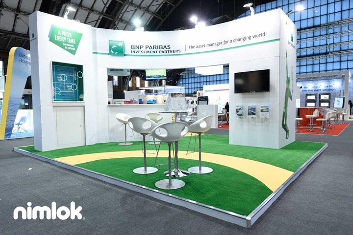 BNP Paribas - 23x20 - trade show exhibit