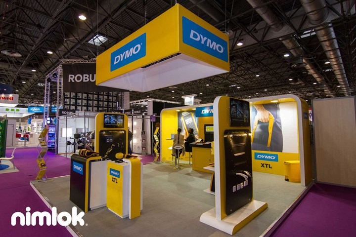 Dymo - 20x20 - trade show exhibit