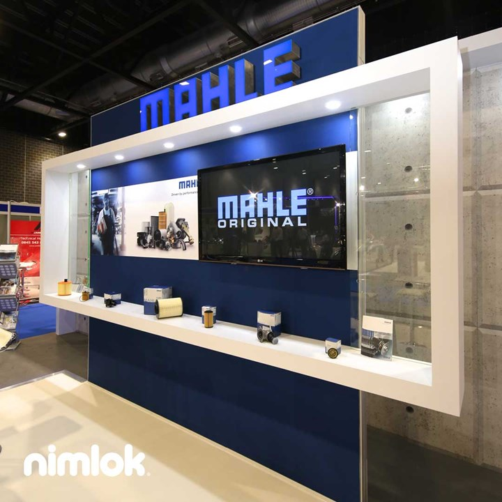 Mahle - 27x23 - trade show exhibit