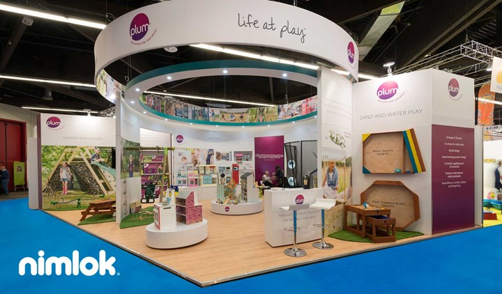 Plum Playgrounds - 36x27 - trade show exhibit