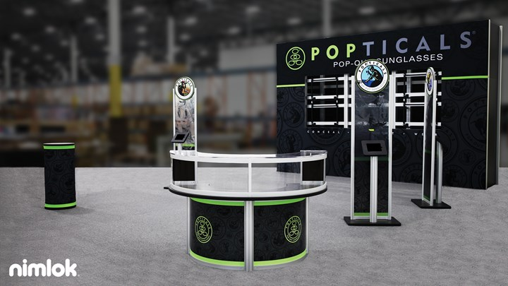 Popticals - 20x30 - trade show exhibit