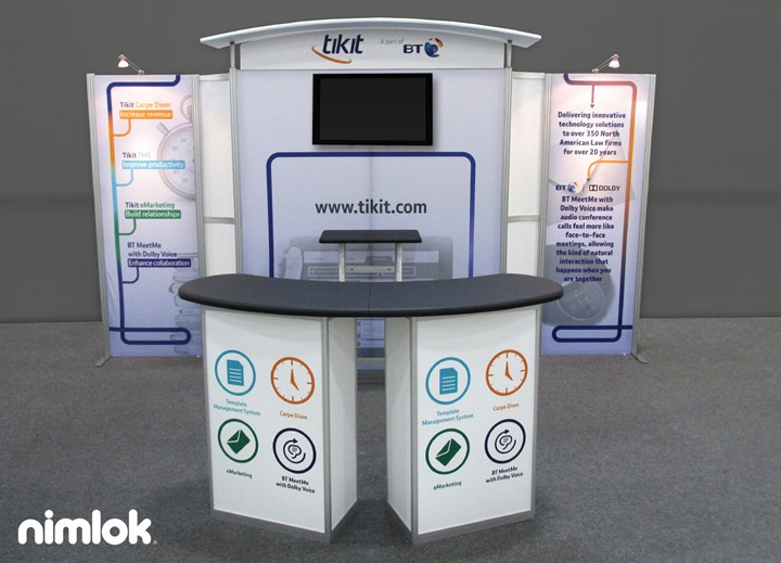 Tikit - 10x20 - trade show exhibit