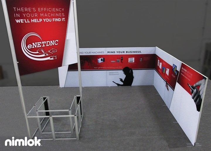 ENet DNC - 20x20 - trade show exhibit