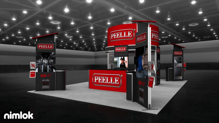 Peelle Door - 20x30 - trade show exhibit