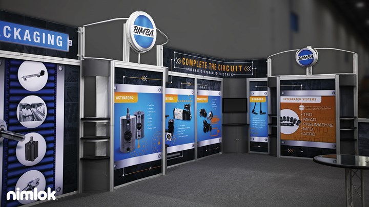Bimba - 20x40 - trade show exhibit