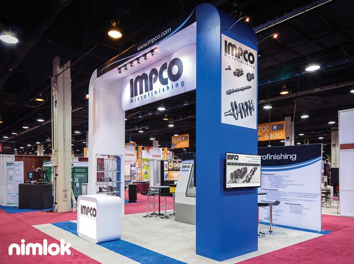 Impco  - 20x20 - trade show exhibit