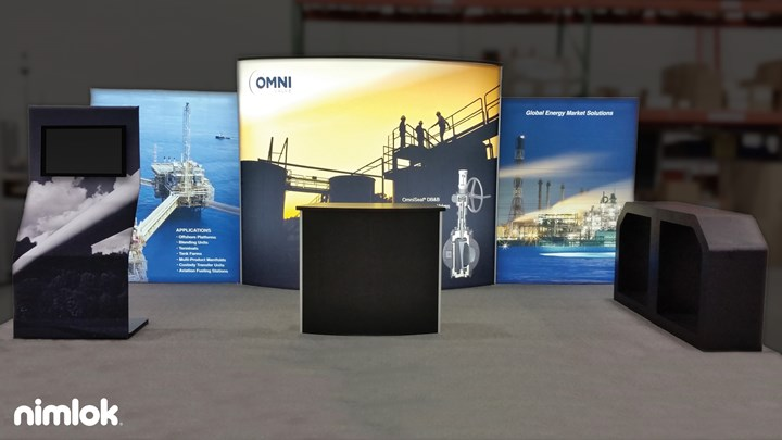 Omni Valve - 10x20 - trade show exhibit