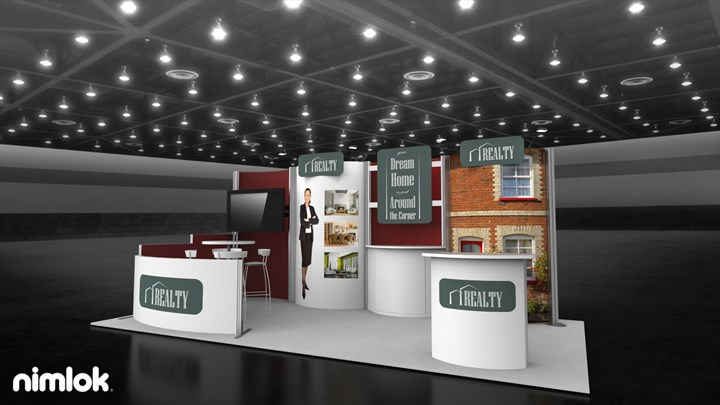 Mylan  - 10x20 - trade show exhibit