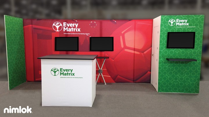 Everymatrix - 10x20 - trade show exhibit