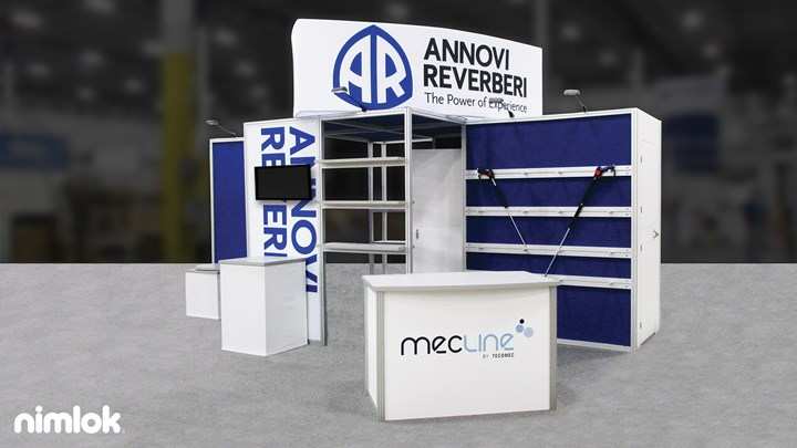 Annovi Reverberi North America - 20x20 - trade show exhibit