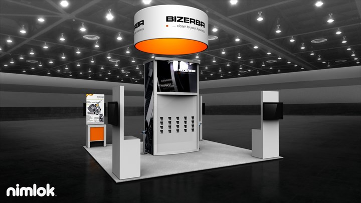 Bizerba - 20x20 - trade show exhibit