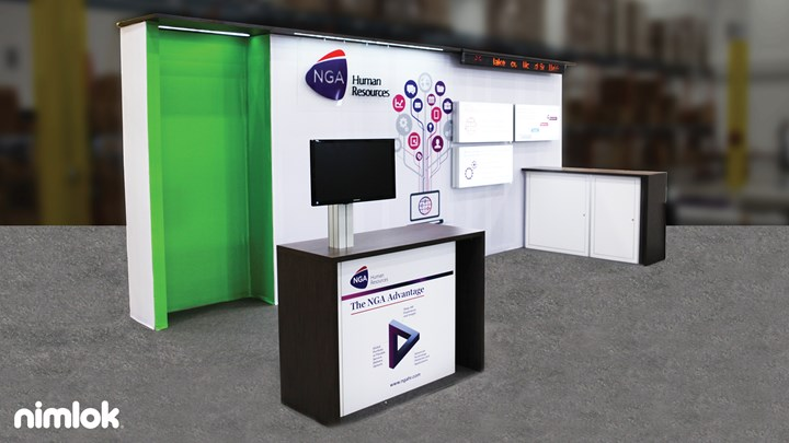 NGA - 10x20 - trade show exhibit