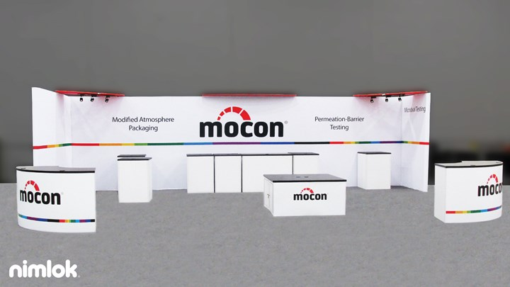 Mocon - 10x30 - trade show exhibit