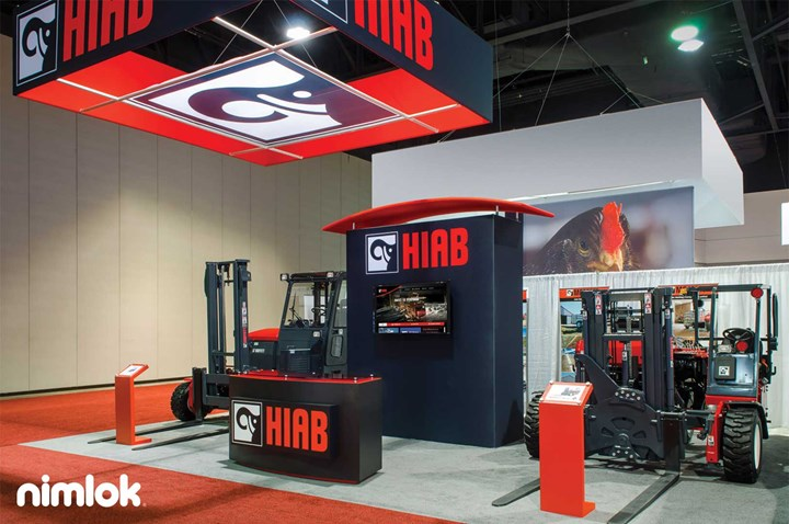 Hiab - 20x30 - trade show exhibit