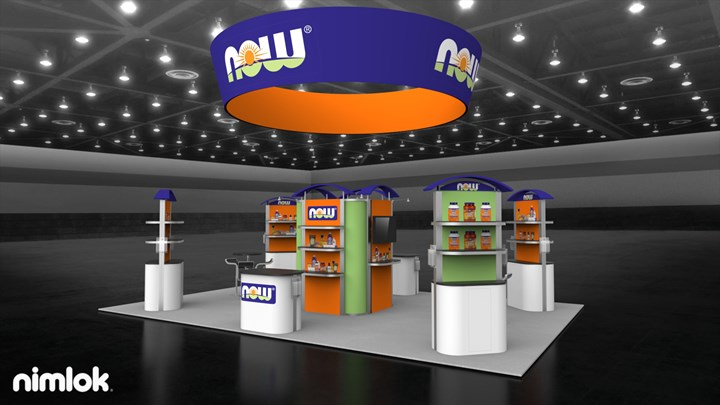 Now Foods - 20x30 - trade show exhibit