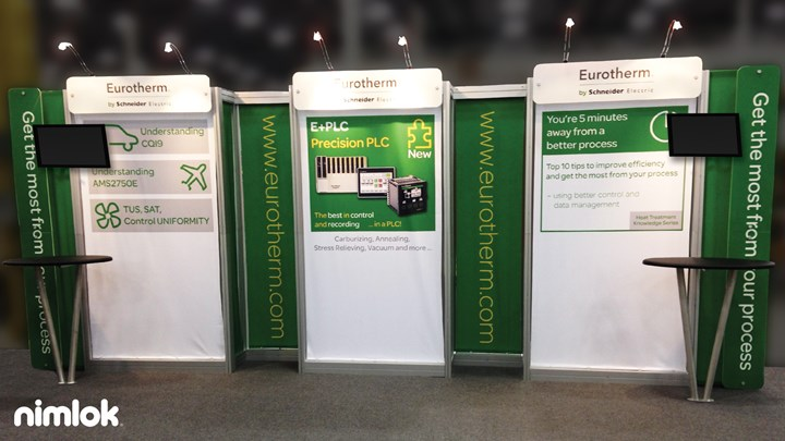 Invensys Eurotherm - 10x20 - trade show exhibit