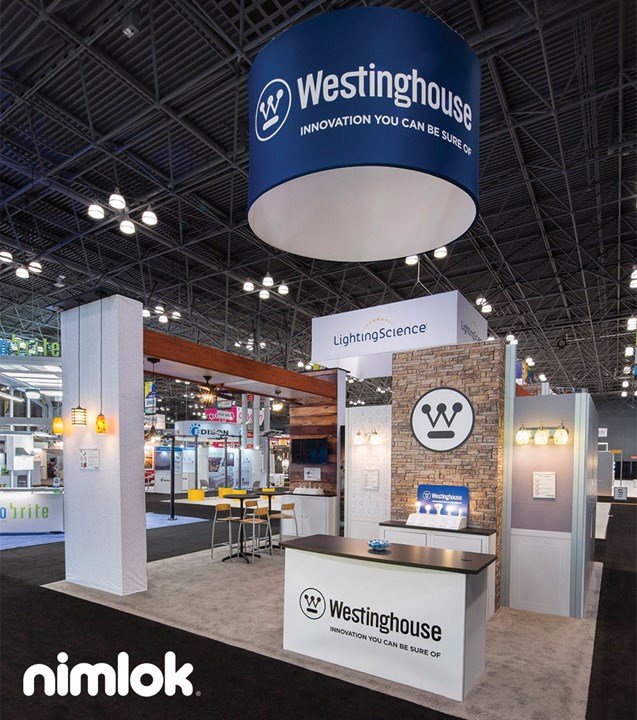 Westinghouse - 20x20 - trade show exhibit