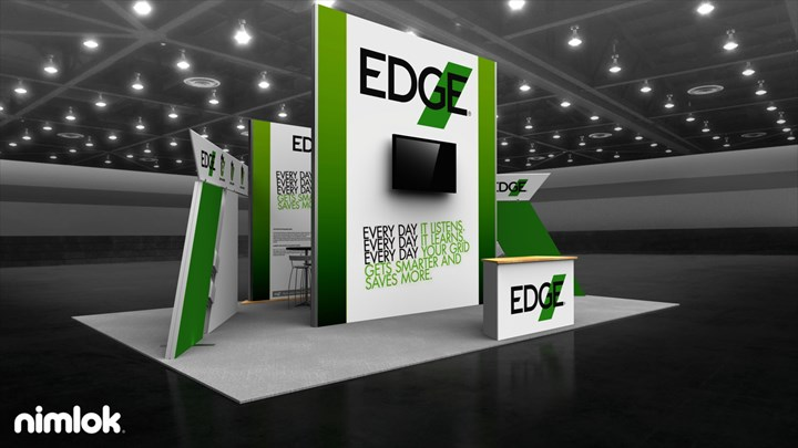 DVI (Dominion Power) - 20x30 - trade show exhibit