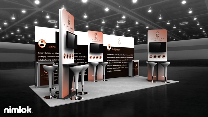 Sensory Solution - 20x20 - trade show exhibit