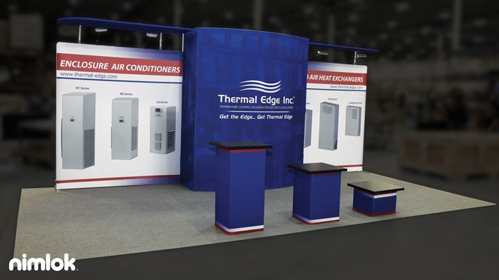 Thermal Edge - 10x20 - trade show exhibit