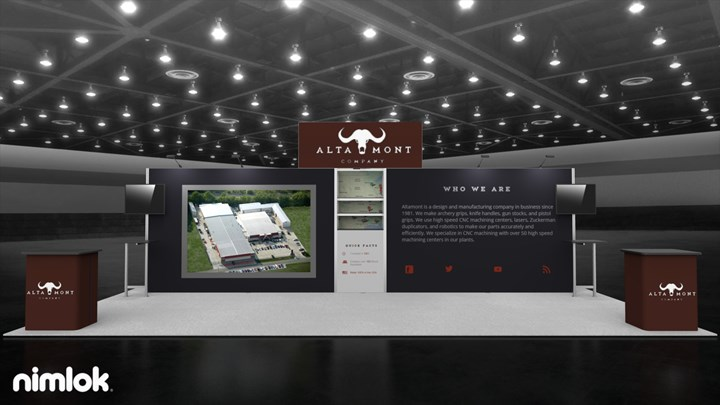 Altamont Company - 10x30 - trade show exhibit