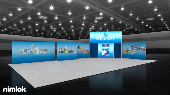 Willert - 30x50 - trade show exhibit