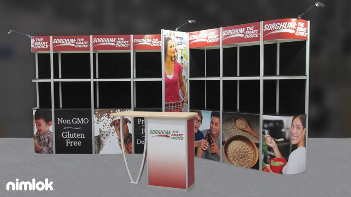 Sorghum - 10x20 - trade show exhibit