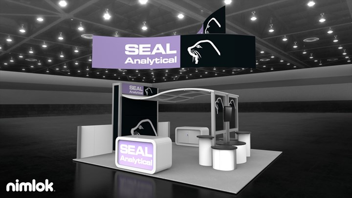 Seal Analytical  - 20x20 - trade show exhibit