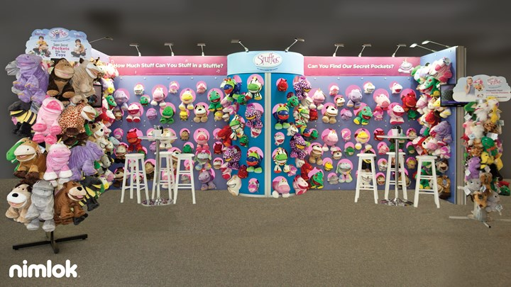 Stuffies - 20x20 - trade show exhibit