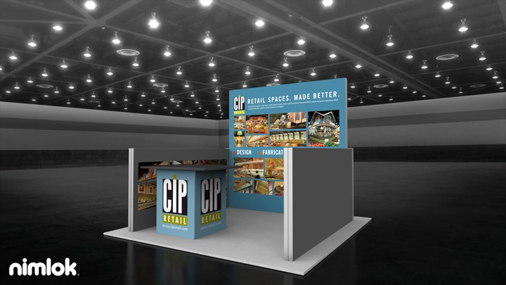CIP Retail - 10x10 - trade show exhibit