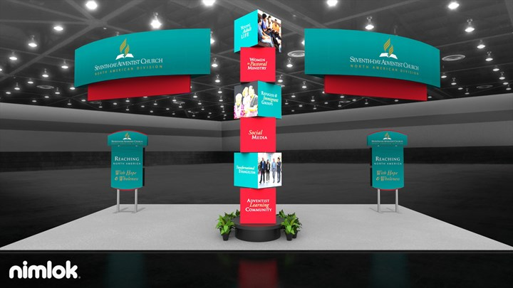 North American Division - 20x40 - trade show exhibit