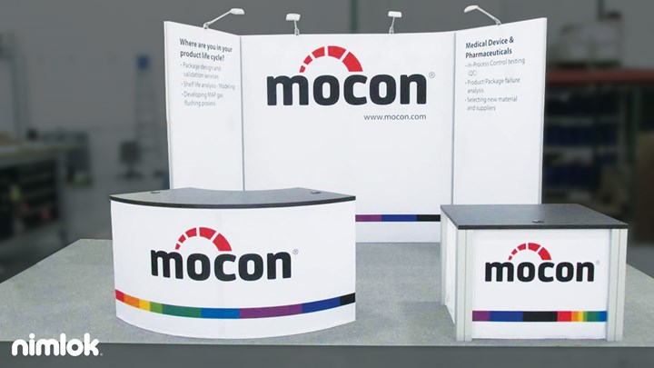 Mocon - 10x20 - trade show exhibit