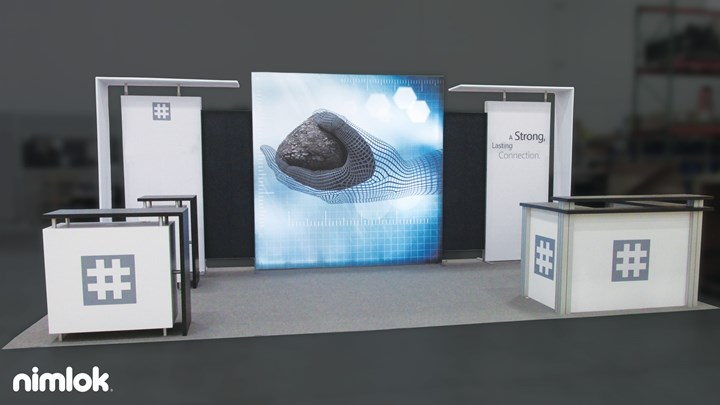 Huesker - 10x20 - trade show exhibit
