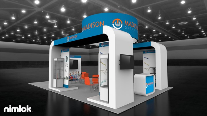 Madison Orth Inc - 20x30 - trade show exhibit
