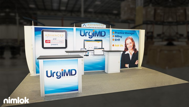 URG iMD - 10x20 - trade show exhibit