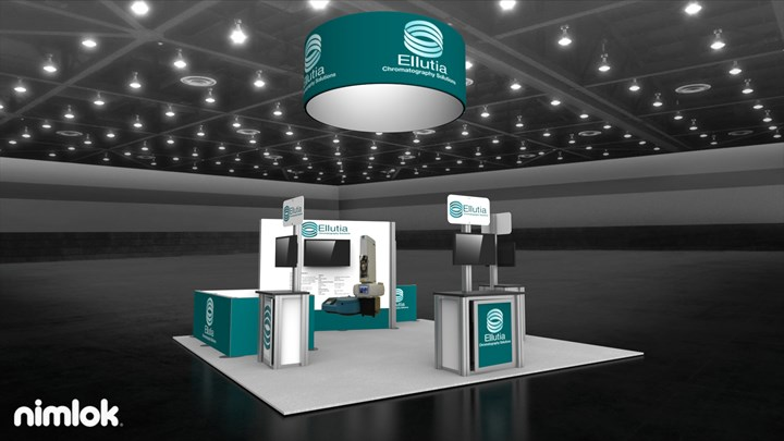 Ellutia - 10x40 - trade show exhibit